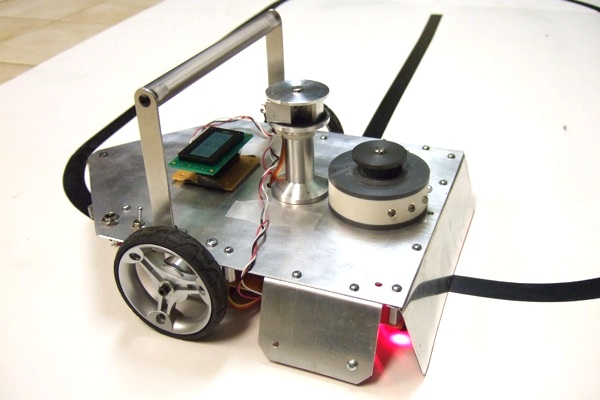 how to make a simple homemade walking robot
