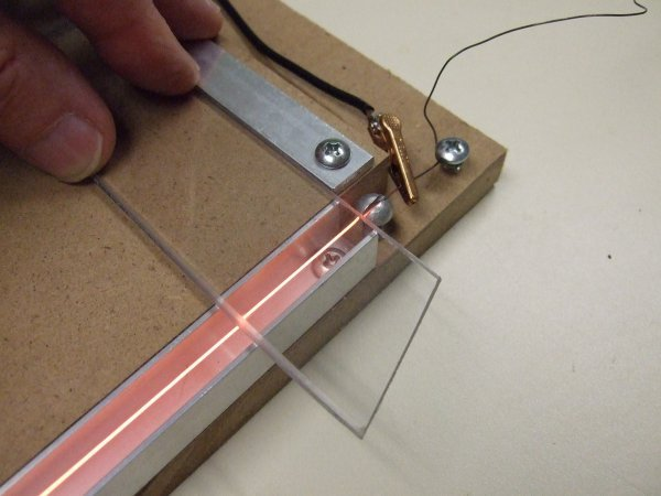 Dale S Homemade Robots Hot Wire Plastic Bender
